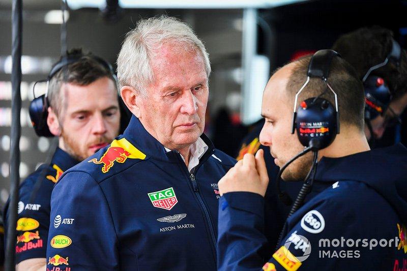 Гельмут Марко, консультант Red Bull Racing
