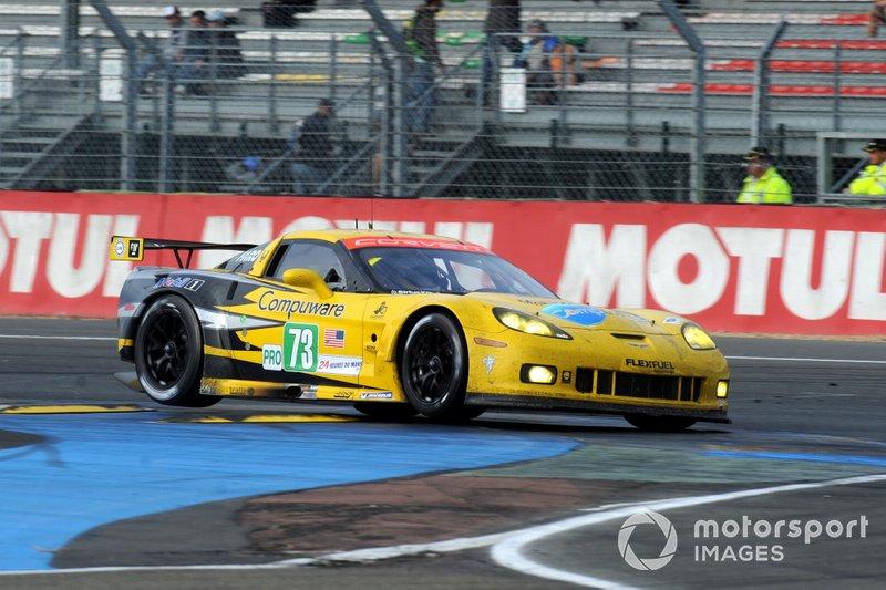 2011: #73 Corvette Racing Chevrolet Corvette C6 ZR1: Olivier Beretta, Tommy Milner, Antonio Garcia