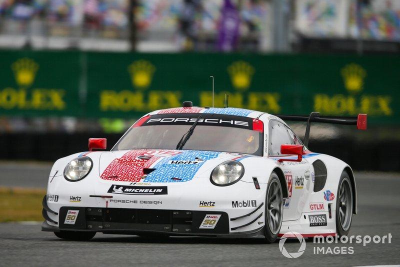 3. #912 Porsche GT Team Porsche 911 RSR, GTLM: Mathieu Jaminet, Earl Bamber, Laurens Vanthoor