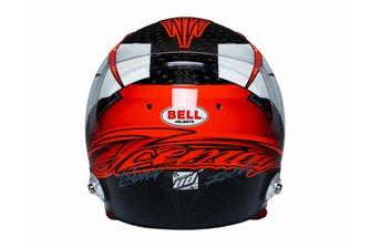 2019 helmet of Kimi Raikkonen