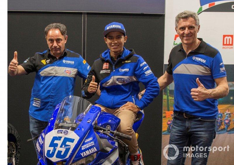 Alberto Barozzi, Yamaha Motor Europe bLU cRU Racing Manager, Galang Hendra, Semakin di Depan - Biblion MotoXRacing