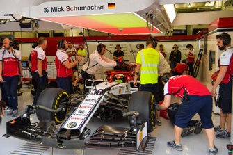 Mick Schumacher, Alfa Romeo Racing C38