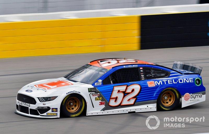 36. B.J. McLeod, Rick Ware Racing, (Las Vegas photo)