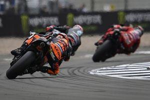 MotoGP-Action in Silverstone