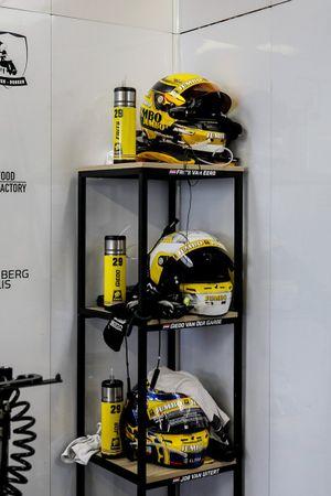 Cascos #29 Racing Team Nederland Oreca 07 - Gibson LMP2, Frits Van Eerd, Giedo Van Der Garde, Job Van Uitert