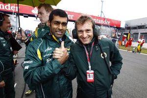 Karun Chandhok, Jarno Trulli, Team Lotus