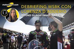 Debriefing WSBK con Lorenza D'Adderio: Round Portimao, Gara 2