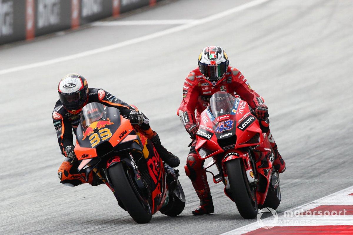 Brad Binder, Red Bull KTM Factory Racing, Jack Miller, Ducati Team