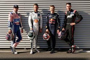 Maximilian Götz, Haupt Racing Team, Marco Wittmann, Walkenhorst Motorsport, Liam Lawson, AF Corse, Kelvin van der Linde, Abt Sportsline