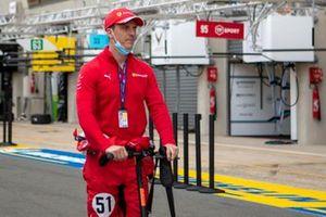 James Calado, #51 AF Corse Ferrari 488 GTE EVO LMGTE Pro