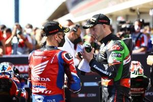 Alvaro Bautista, Team HRC, Jonathan Rea, Kawasaki Racing Team WorldSBK