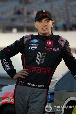 Christian Eckes, ThorSport Racing, Toyota Tundra TSPORT/Curb Records