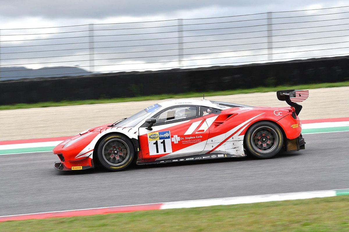 #11 Kessel Racing, Ferrari 488 GT3 Evo: Stephen Earle, Niccolò Schirò