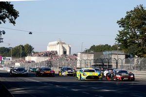 Vincent Abril, Haupt Racing Team Mercedes AMG GT3, Mike Rockenfeller, Abt Sportsline Audi R8 LMS GT3