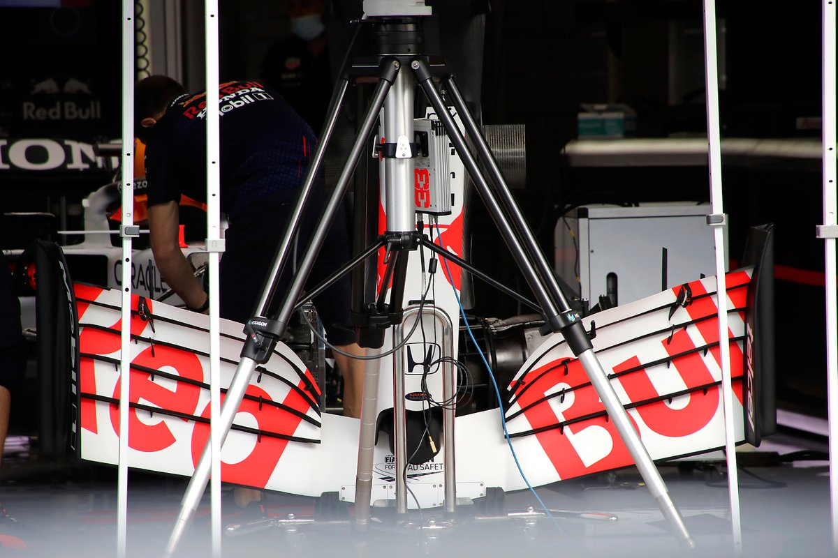 Red Bull Racing RB16B front wing