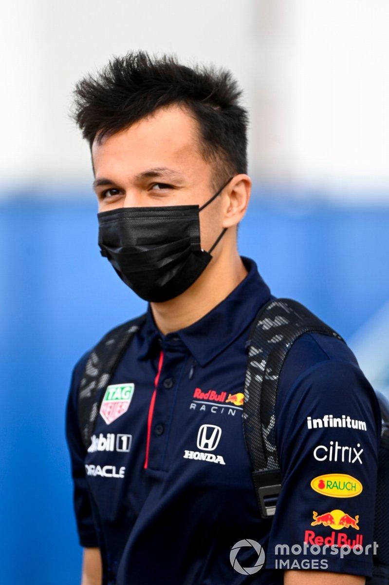 Alex Albon, Reserve Driver, Red Bull Racing