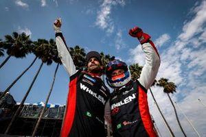 #31: Whelen Engineering Racing Cadillac DPi, DPi: Felipe Nasr, Pipo Derani, podium