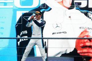 George Russell, Williams, 2e plaats, op het podium