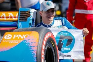 Alex Palou, Chip Ganassi Racing Honda wins the NTT P1 Award, pole