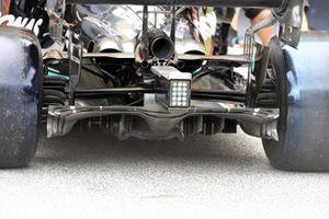 Mercedes W12 rear detail