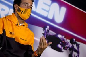 Daniel Ricciardo, McLaren in conferenza stampa
