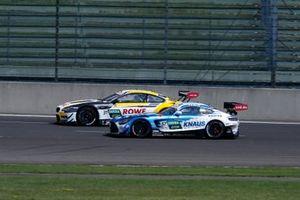 Sheldon van der Linde, ROWE Racing BMW M6 GT3, Philip Ellis, Mercedes AMG Team Winward Mercedes AMG GT3