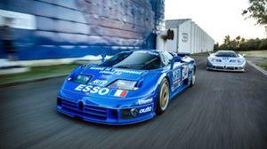 Bugatti EB110 SS LM e SC GTS-1