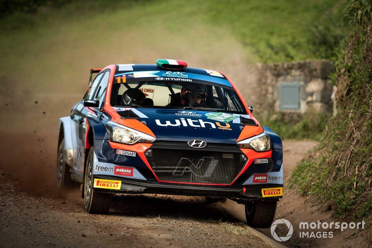Umberto Scandola, Danilo Fappani, Hyundai Rally Team Italia/S.A. Motorsport, Hyundai i20 R5