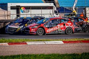 Juha Rytkönen, Ford Fiesta, Kevin Hansen, Hansen World RX Team Peugeot 208