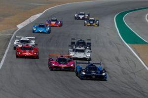 #10: Konica Minolta Acura ARX-05 Acura DPi, DPi: Ricky Taylor, Filipe Albuquerque, #60: Meyer Shank Racing w/Curb-Agajanian Acura DPi, DPi: Olivier Pla, Dane Cameron