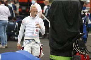Nikita Mazepin, Haas F1, en la parrilla