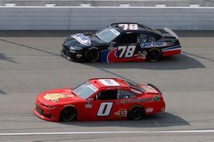 Jeffrey Earnhardt, JD Motorsports, Chevrolet Camaro TeamJDMotorsports.com, Mason Massey, B.J. McLeod Motorsports, Chevrolet Camaro