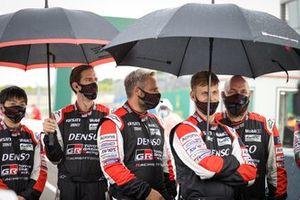 Membri del team Toyota Gazoo Racing