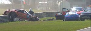 Acidente de Rodrigo Mello na Porsche Cup