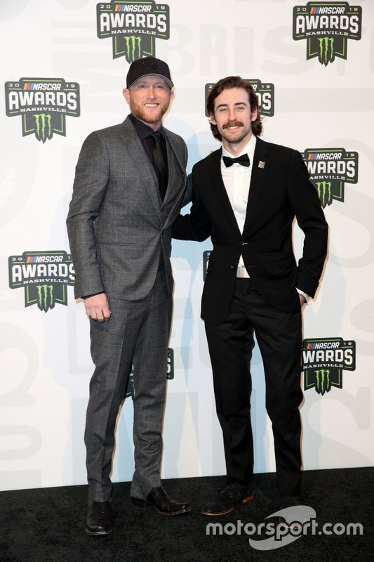 Cole Swindell y Ryan Blaney