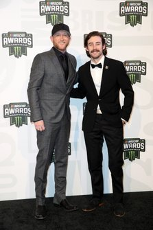 Cole Swindell and Ryan Blaney