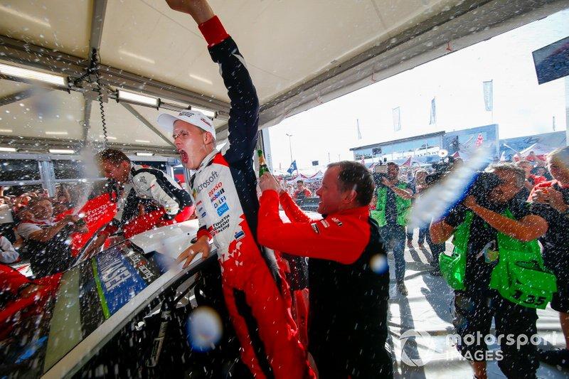 Il Campione Ott Tänak, Toyota Gazoo Racing