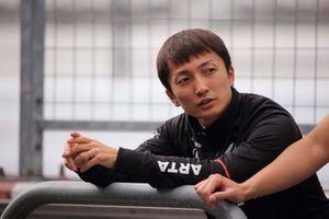 Tomoki Nojiri #8 Honda NSX-GT
