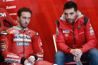 Андреа Довициозо, Ducati Team, и Микеле Пирро, Alma Pramac Racing
