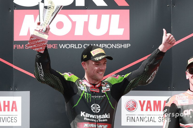 1. Alex Lowes, Kawasaki Racing Team