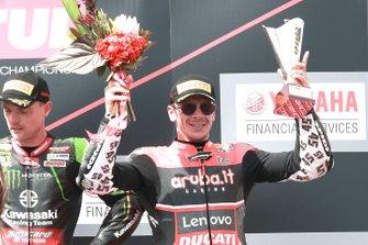1. Alex Lowes, Kawasaki Racing Team, 3. Scott Redding, Aruba.it Racing Ducati