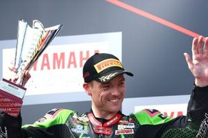 Podio: il secondo classificato Alex Lowes, Kawasaki Racing Team