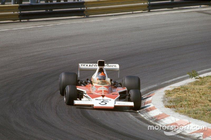 Emerson Fittipaldi, McLaren M23 Ford, al GP d'Olanda del 1974