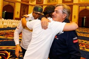 Nani Roma, Borgward Rally Team, Carlos Sainz, JCW X-Raid Team, Fernando Alonso, Toyota Gazoo Racing