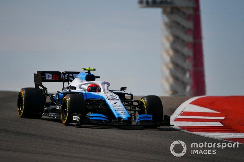 Robert Kubica, Williams FW42 - Trening 3