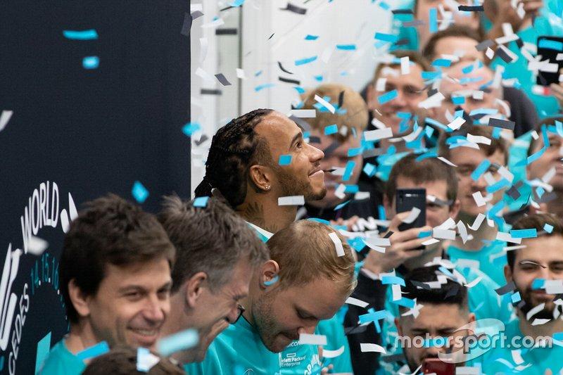 Mercedes feiert die WM-Titel 2019