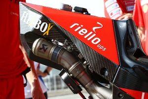 دراجة دانيلو بيتروشي، فريق دوكاتي