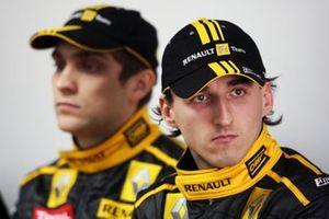 Robert Kubica, Renault and Vitaly Petrov, Renault F1 Team