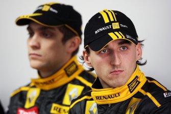 Robert Kubica, Renault y Vitaly Petrov, Renault F1 Team
