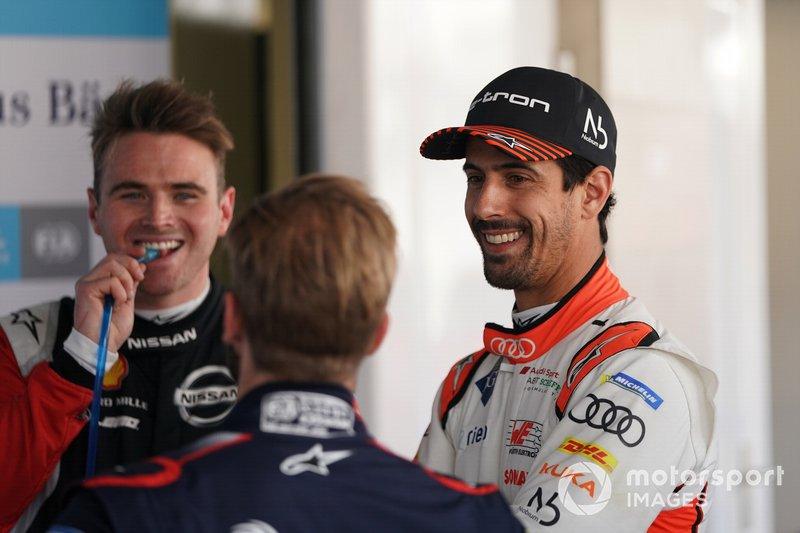 Oliver Rowland, Nissan e.Dams, Lucas Di Grassi, Audi Sport ABT Schaeffler